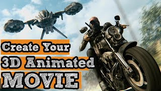 How to Make 3D Animation Movie at home