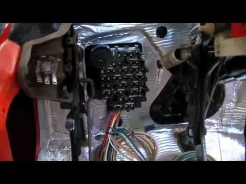 hqdefault part 8 c10 wiring repair universal wiring harness youtube 1986 chevy truck wiring harness at eliteediting.co