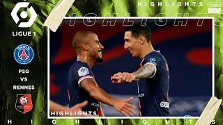 PSG 3 - 0 Rennes - HIGHLIGHTS & GOALS - (11/7/2020)