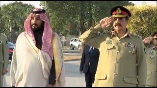 Saudi deputy crown prince and Defence Minister called on General Raheel Sharif