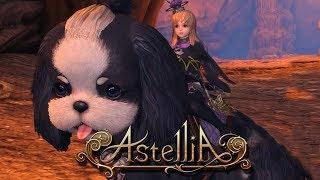 Astellia Online Gameplay Newbie Quests & Party Dungeon CBT2