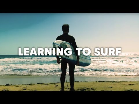 What It Feels Like When You First Learn To Surf...