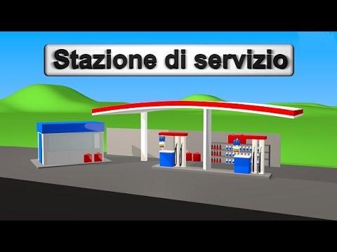 Stazione di servizio  5  10  20 Euro  AlexKidsTV
