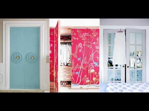 🔝 Closet Door Ideas DIY Sliding With Curtain For Small Bedroom Makeover Installation Repair 2018