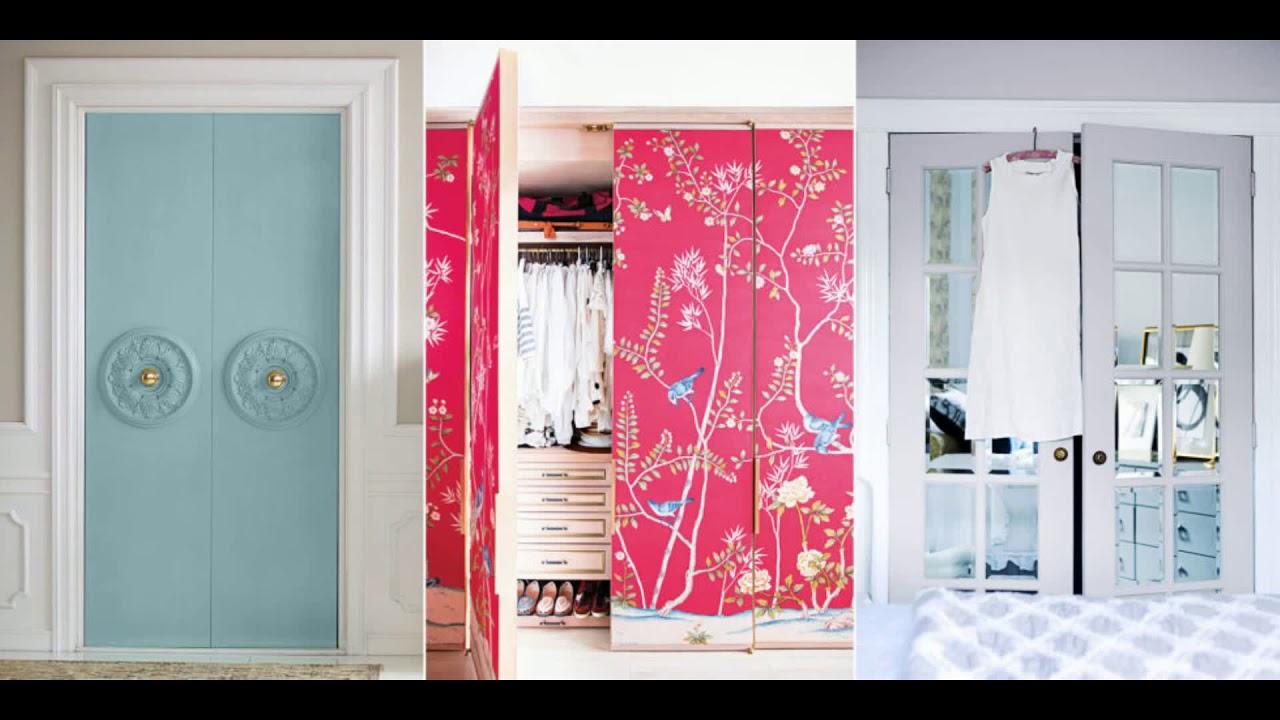 closet door ideas diy sliding with curtain for small bedroom makeover installation repair 2018