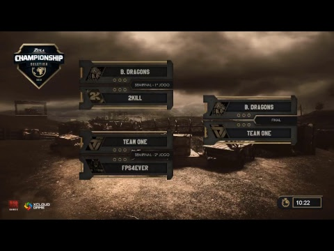 Classificatória Brasileira para o mundial - Semi-Final - FPS[4]EVER vs Team One - Zula