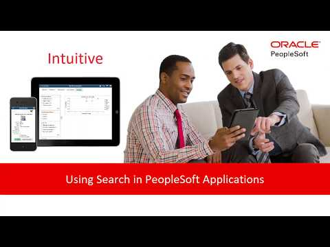Using Search in PeopleSoft Applications