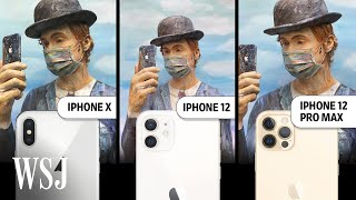 iPhone 12 Pro Max vs. iPhone 12: Camera Review | WSJ