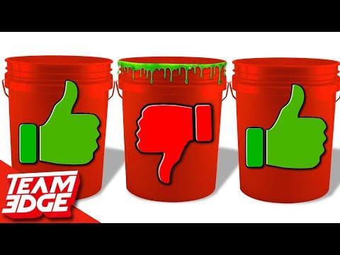 Mystery SLIME Bucket Dump Challenge!!