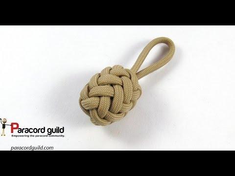 Herringbone Knot Paracord Key Fob Youtube