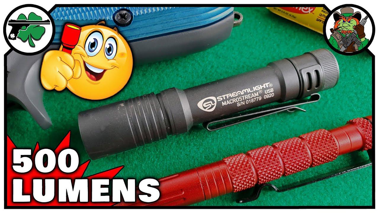Streamlight Macrostream USB EDC  Flashlight   The PERFECT Flashlight For Every Day Carry