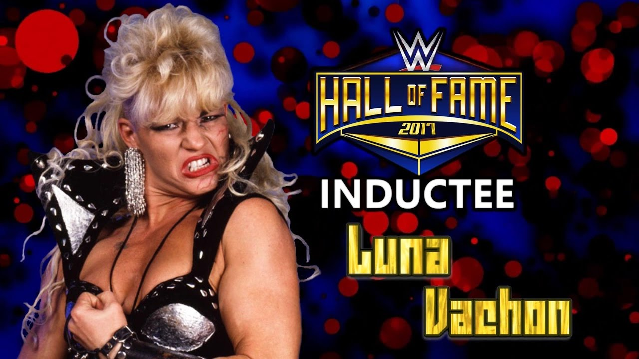 4af02fe8ddc4 Luna Vachon joins the WWE Hall of Fame Class of 2019 - Custom - YouTube