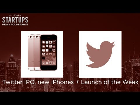 Twitter to IPO, new iPhones and Disrupt launches Layer and Soil IQ - TWiST News Roundtable