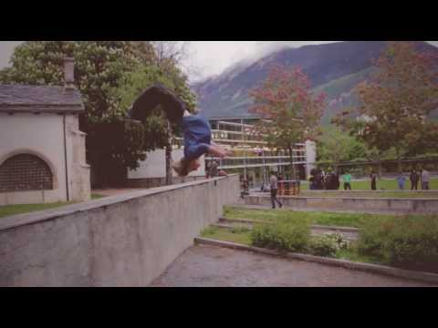 Parkour & Freerun event Sierre - par l'ASLEC 17.05.13