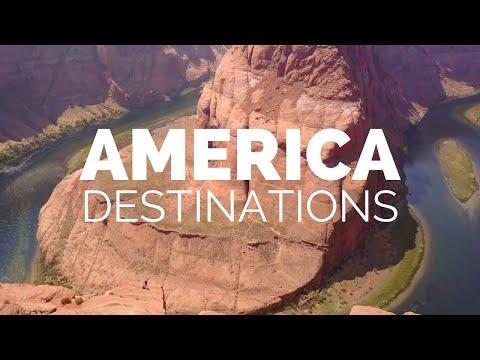 25 Most Beautiful Destinations in America - Travel Video