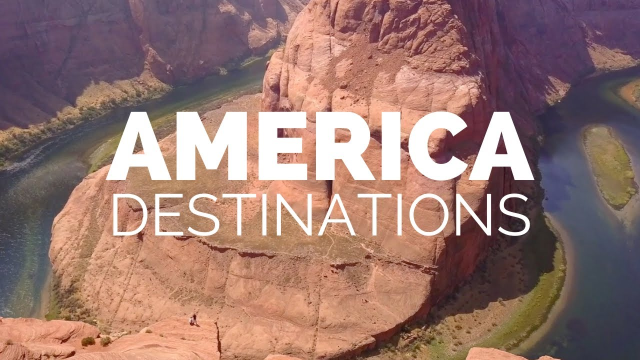 25 Most Beautiful Destinations in America - Travel Video