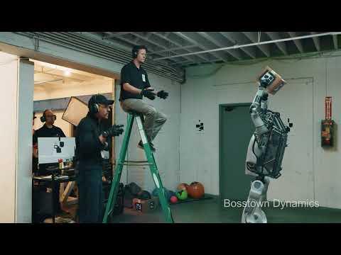 Новое видео от Boston Dynamics испытания прямоходящего робота