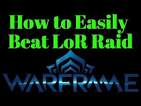 Warframe | LoR Raid Basics