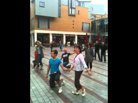 Princesshay, Exeter Flashmob