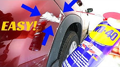 How To Remove ANY Scuff Mark From Your Car (No Tools, Easy)