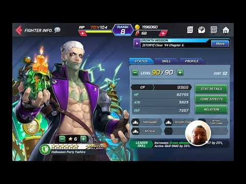 Rate The Skin King Of Fighters All-star Halloween Party Yashiro