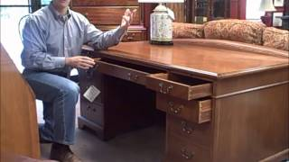 1940s Walnut Executive Desk Is Our Deal Of The Week 10-14-11
