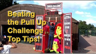 How to Beat Pull Up Bar 2Min Hanging Challenge Alton Towers Theme Park