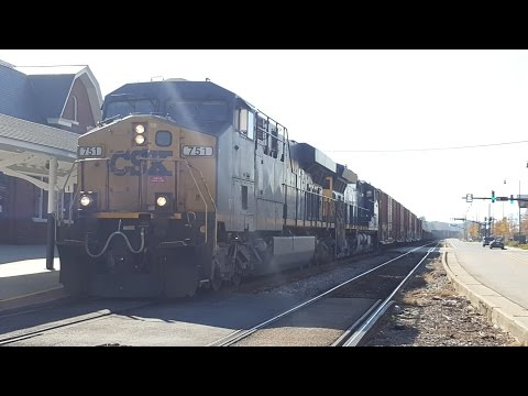 [CSX] [EMERGENCY] MORE HOLY EMD POWER+ G651 with Ex-LMS leader and Q410 with a broken air hose!
