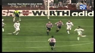real madrid vs athletic de Bilbao 2-2 full match 1999/2000 Debut Casillas