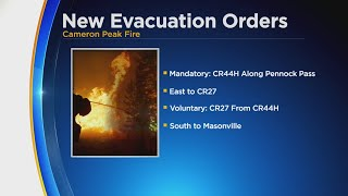 New Evacuation Orders For Cameron Peak Fire
