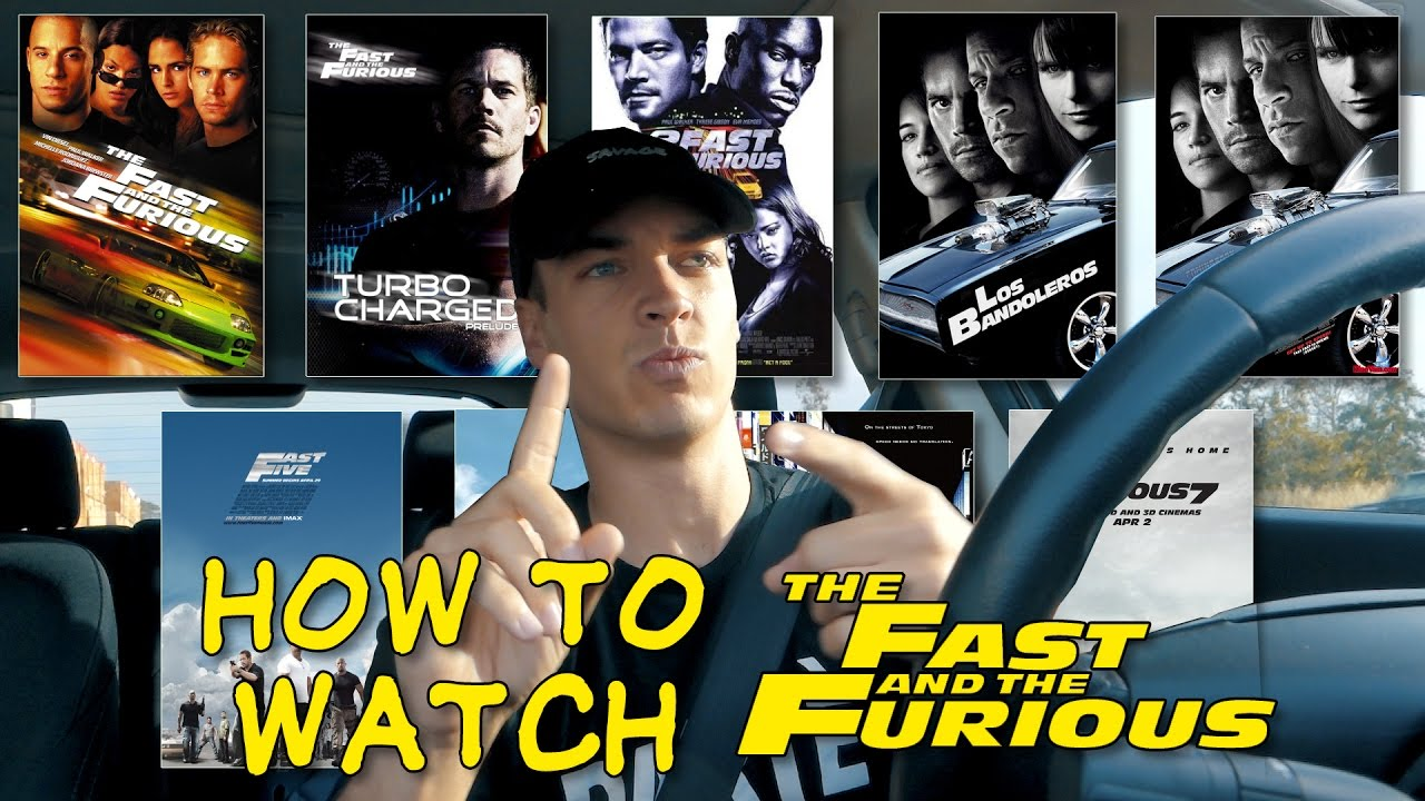 the real order of the fast furious movies youtube. Black Bedroom Furniture Sets. Home Design Ideas