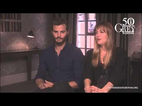 Jamie y Dakota hablan sobre Cincuenta Sombras  2 Julio