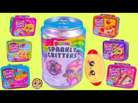 Lunch Box Surprise  Poopsie Sparkly Critters Blind Bag Slime - Toy