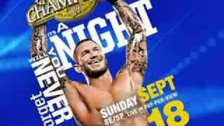 WWE Night of Champions 2011 Theme Song ''The Champion In Me''