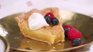 Kentucky Transparent Pie | Southern Living