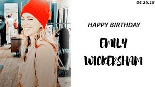 happy birthday emily wickersham | 35