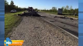 На границе с Пензенской областью произошло страшное ДТП