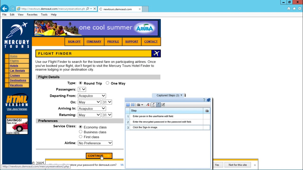 HP ALM - Record Steps Using Sprinter