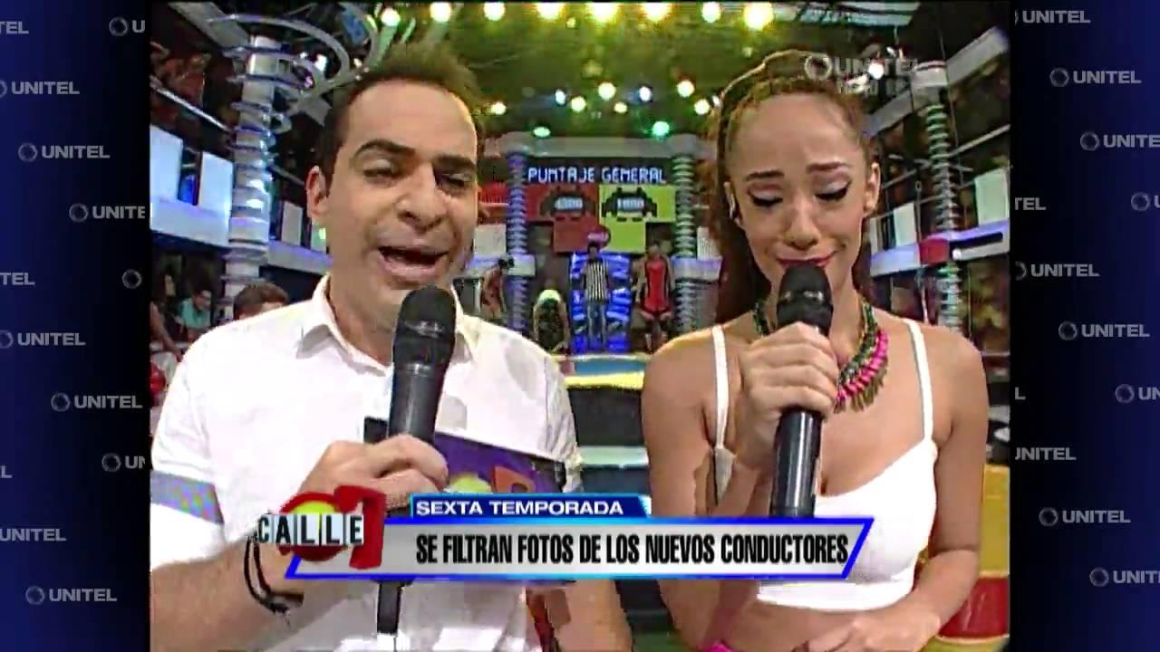 Download Se filtran fotos de los nuevo presentadores de Calle 7, Ronico y Eloísa preocupados