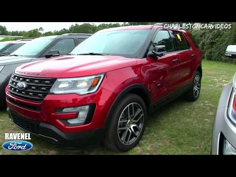 New 2017 Ford Explorer Limited 4x4 - Car Dealership Walkaround Review at Ravenel Ford