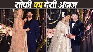 Priyanka Chopra और Nick Jonas के Reception में जेठानी Sophie Turner का gorgeous look   Boldsky