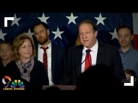 Jared Polis speaks after defeating Walker Stapleton in Colorado's gubernatorial race