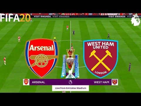 FIFA 20 | Arsenal Vs West Ham United - Premier League - Full Match & Gameplay