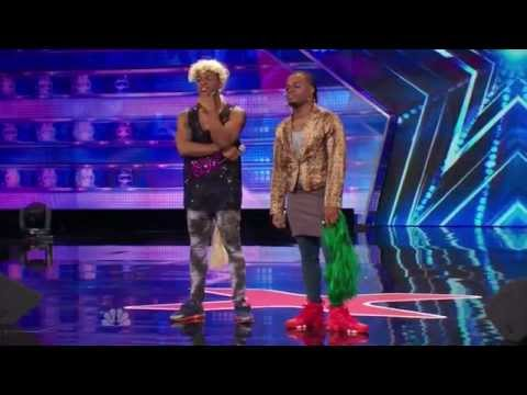America's Got Talent S09E06 Emmanuel and Phillip Hudson Evidence Howie is the WORST Judge