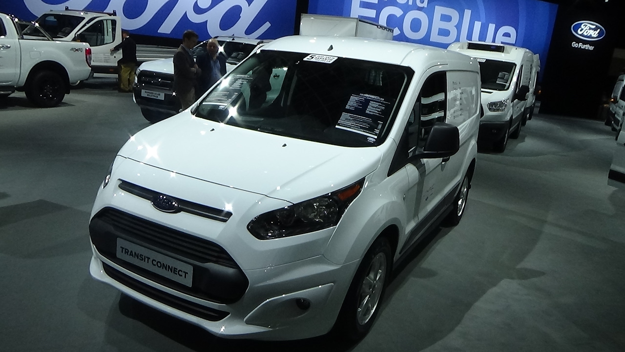 2017 Ford Transit Connect L1 T200 Trend Exterior And Interior Auto Show Brussels