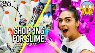 SHOPPING FOR SLIME SUPPLIES AT WALMART!!! ($1,000 on glue in 15 minutes)