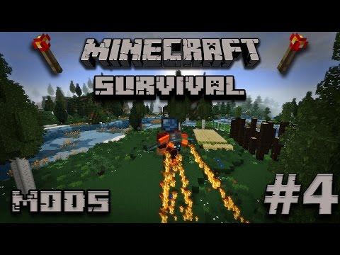 Minecraft  Survival con mods #4 Mekanism Jetpack y free runners