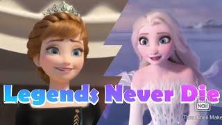 Frozen MV Legends Never Die