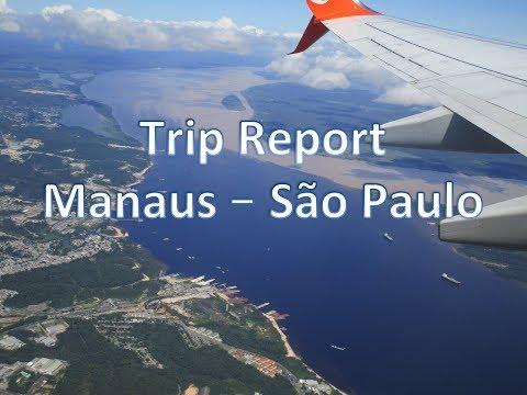Trip Report Manaus (MAO) to São Paulo (GRU) on Board Gol