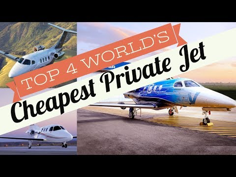 Top 4 World's cheapest Private Jet you can buy